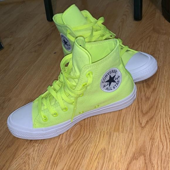 Converse Shoes | Lime Green Chuck